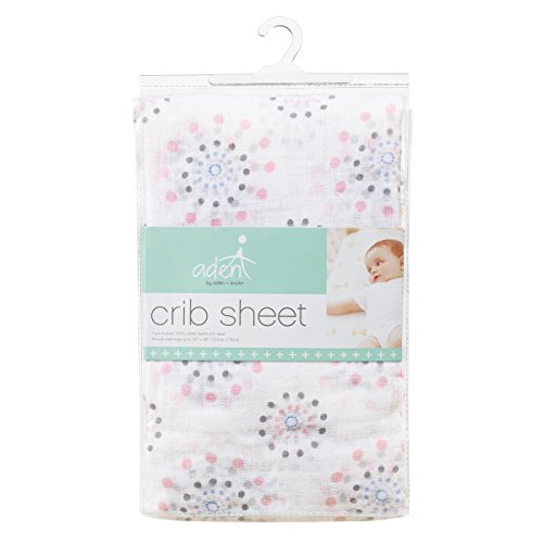aden anais crib sheet pinwheel