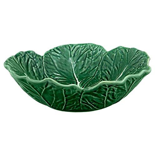 Bordallo Pinheiro Cabbage Green Cereal Bowl, Set of 4