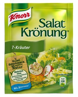 Knorr Salatkrönung 7-Kräuter (7 diffrent herbals) (5 Pc.) 3 Packs