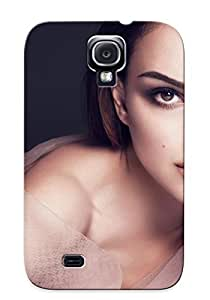 Hot Knlvrl-1447-nnjpcsl Case Cover Protector For Galaxy S4- Women Actress Natalie Portman / Special Gift For Lovers