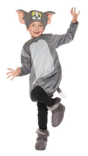 [Tom and Jerry Tom Kids costume unisex 80cm-100cm 95684T] (Tom And Jerry Costumes For Toddlers)