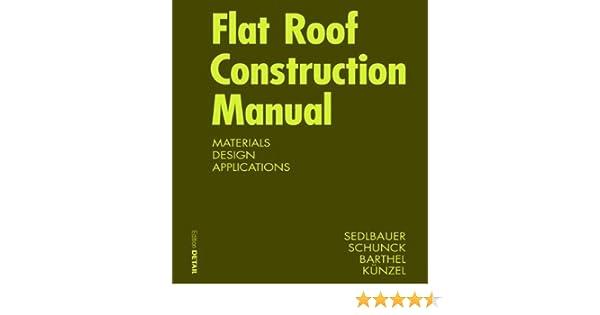 flat roof construction manual konstruktionsatlanten klaus rh amazon com Building Facades in Architecture Facade Wall