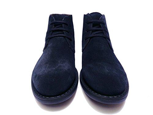 Nero Giardini - Zapatos de cordones de ante para hombre azul turquesa 45