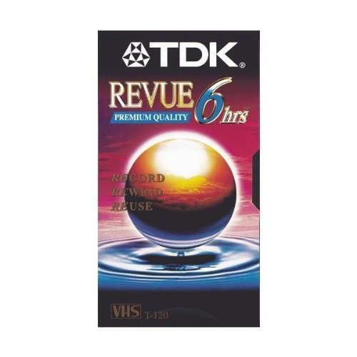 TDK T120 REVUE Package of 5 by TDK