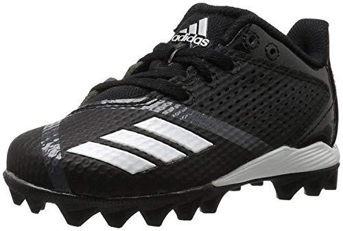 promo code 2ccaf 0c6f1 adidas Unisex 5-Star md j Football Shoe, core Black, FTWR White, Night met.  Fabric, 10K M US Big Kid