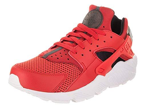 Platinum Red black pure Uomo Textile Huarache Nike Formatori Air Leather white Habanero PRqW0g