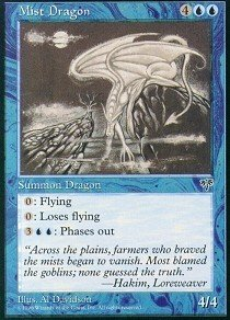 - Magic: the Gathering - Mist Dragon - Mirage