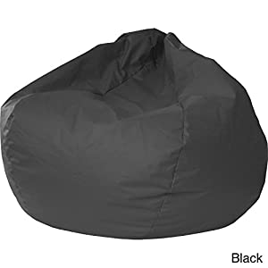 Gold Medal 30008446817 Small Leather Look Bean Bag for Children