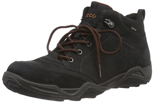 ECCO Sierra II Scarpe Sportive Outdoor, Uomo, Nero(Black/Black/Picante 58692), 43