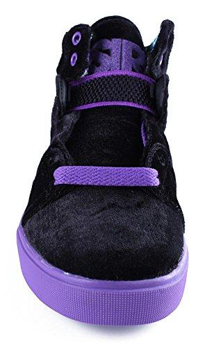b71fd57c4fae6 Osiris Women's Raider Skate Shoe,Black/Purple/Black,8.5 M US - Buy ...