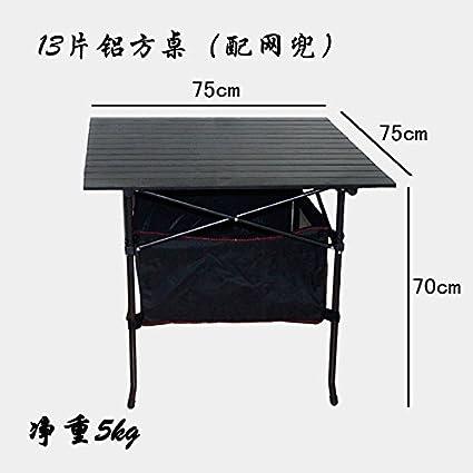 Lin Inoxidable Mesa Acero Exterior De Xing Plegable Camping Nuevo KTJ3lFc1