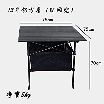 Xing Lin Mesa Al Aire Libre Exterior De Aleación De Aluminio Mesa Plegable Portátil Mostrar Tabla