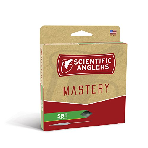 Scientific Anglers Mastery Series SBT (Short Belly Taper) Floating Fly Fishing Line (Willow/Orange/Willow, WF7F)