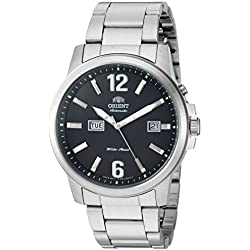 Orient Men's 'Starfish' Japanese Automatic Stainless Steel Casual Watch, Color:Silver-Toned (Model: FEM7J006B0)