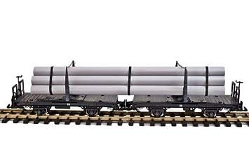 Zenner drehschemelwagenpaar con tubos, ESCALA G Tren de ...