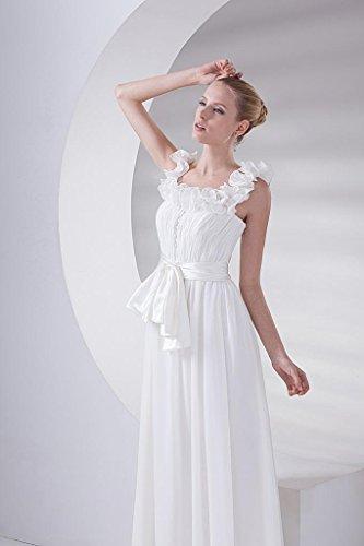 BRIDE Neue Schulterbogenkleid GEORGE Ankunft Spitze Weiß R4dd6wqf