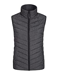 Mountain Warehouse Windemere Womens Gilet - Padded Body Warmer Charcoal 20