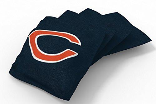 PROLINE 6x6 NFL Chicago Bears Cornhole Bean Bags - Solid Design (A)