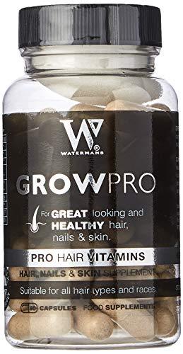 Best Hair Vitamins - GrowPro - Haarwuchs Supplements mit Nagelfestiger Formel für längere, stärkere Nägel