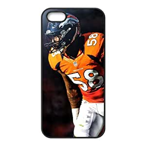 Denver Broncos iPhone 5 5s Cell Phone Case Black persent zhm004_8497291