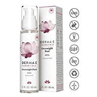 DERMA E Overnight Peel w/ Alpha Hydroxy Acids, 2oz