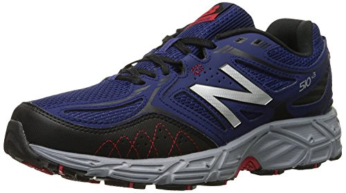 New Balance Mens 510v3 Trail Running Shoe, Navy/Negro, 45 EU/10.5 UK