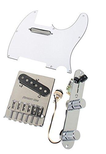 Fender Tele Telecaster Loaded Pickguard Texas Special Pickups Hipshot Bridge WH