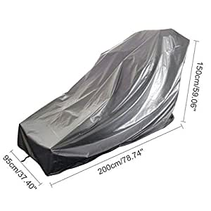 Treadmill Cover, Sports Running Machine Protective Folding Cover Dustproof Waterproof Cover, for Outside Weather Rain & Sunshine Resistance 78.74''x37.40''x59.06''