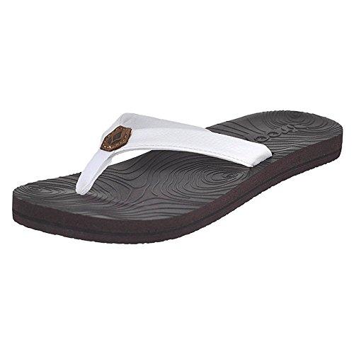 Reef Womens Zen Love Sandal Footwear, White, Size 6