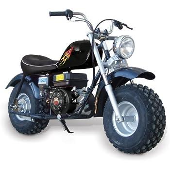 baja motorsports ht65 heat 65 mini bike black. Black Bedroom Furniture Sets. Home Design Ideas
