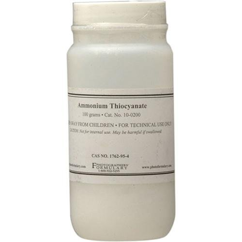 Photographers' Formulary 100g Ammonium Thiocyanate