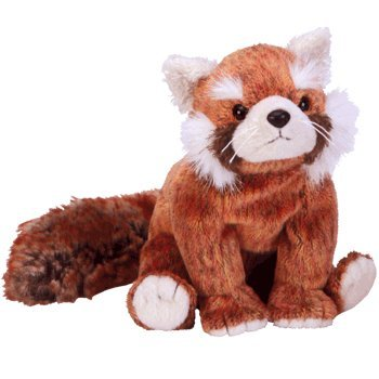 TY Beanie Baby - RUSTY the Red Panda by Ty