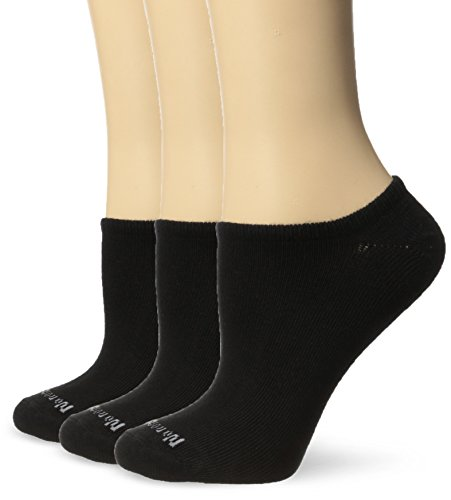 No nonsense Womens Ahh Said The Foot No Show Liner Sock, 3 Pair Pack