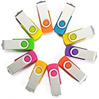 From our Premium Line: 10 count 2GB USB 2.0 - Bulk Variety Pack - USB Neon Rubberized Swivel Designs - 2 GB 2.0 Flash Drive in White Flip Box with Magnetic Closure. Look for the SameDayFlash logo on the package to make sure you are receiving genuine SameDayFlash products