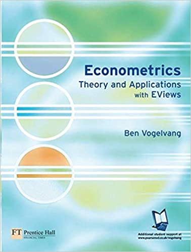 Econometrics: Theory and Applications with EViews: 9780273683742