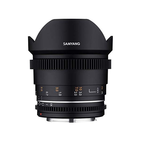 RetinaPix Samyang Enhanced Cine Lens, VDSLR 14MM T3.1 MK2, for Mount Canon Cameras