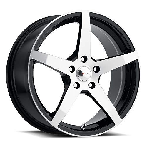 Focal Custom Wheel Satin Black - 455 F55 Series with Clear Coat - 18\