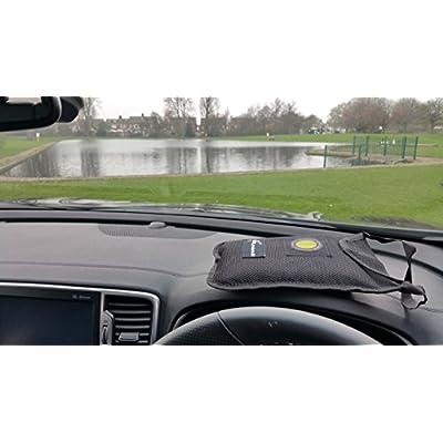 DRY AIR Car/home Dehumidifier BAG Moisture Absorber/damp Eater 1kg-NOW HAS ANTI SPLIP PAD TO HELP KEEP FIRM ON DASH: Automotive
