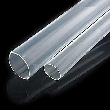 CUHAWUDBA Thermo-Schrumpfschlauch Durchmesser 2,5 mm Elektroger/ät transparent Kays transparent f/ür KFZ
