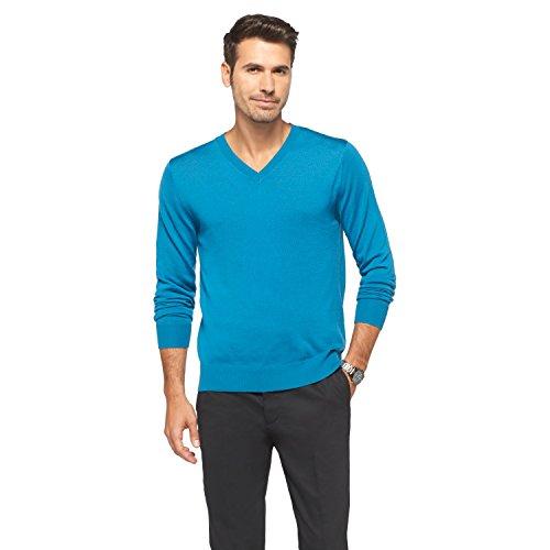 Mens 100% Wool Sweater - 6