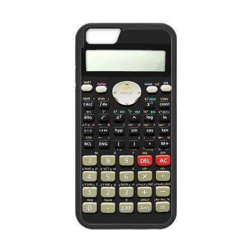 custom phone cases Retro Series Scientific Calculator Design for iPhone 6/6S Case with Black Laser Technology