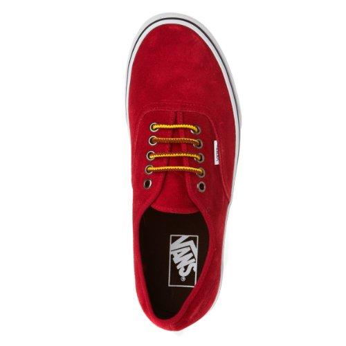 Vans Authentic, Zapatillas de Estar por Casa para Hombre Chili Pepper