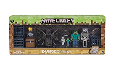 Minecraft Dungeon Pack from Jazwares - Import