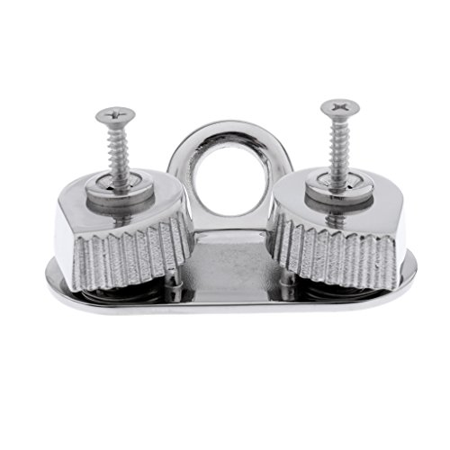 Fenteer Large Sliding Cam Cleat Fairlead Cleat Rope and Line Cleat for Sailing Dinghy Boat Kayak for Rope Sizes 12mm by Fenteer