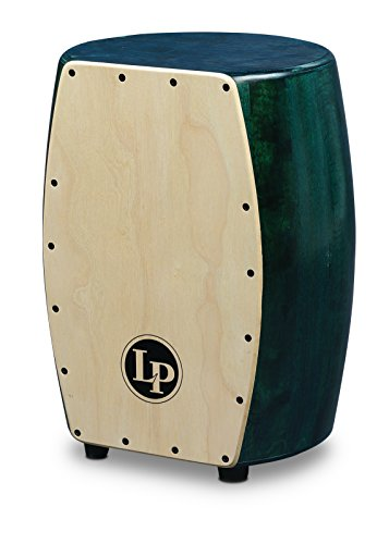 LP Matador Stave Quinto Cajon with Green Finish and Natural Front M1405GN by Latin Percussion
