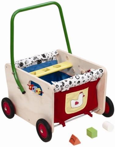 Wonderworld Wooden Jolly Wagon Walker: Amazon.co.uk: Baby