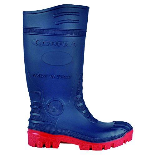 Cofra Typhoon S5 SRC Chaussures de sécurité Taille 48 Bleu/Rouge