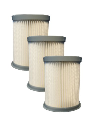 (3) Hoover Pleated Elite Rewind Fusion HEPA Filter, Upright, Bagless Deluxe Vacuum Cleaners, U5507900, U5507950, U5509900, U5511900, UH40070, U5509900, U5509-900, U5507-950, U5507900, U5507-900, U5509-900
