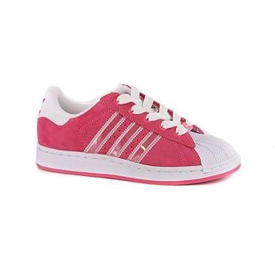 Mädchen Schuhe Adidas Superstar Rosa Wildleder EUR 31