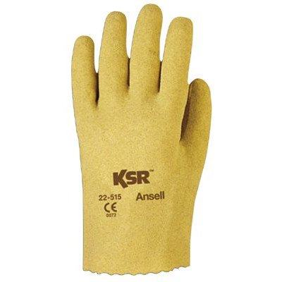 Cotton Gloves Ansell (Ansell - Ksr Vinyl Coated Gloves 203940 10 Ksr-Vinyl Coated-Knit Lined: 012-22-515-10 - 203940 10 ksr-vinyl coated-knit lined [Set of 12])
